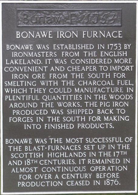 Bonawe Iron Furnace
