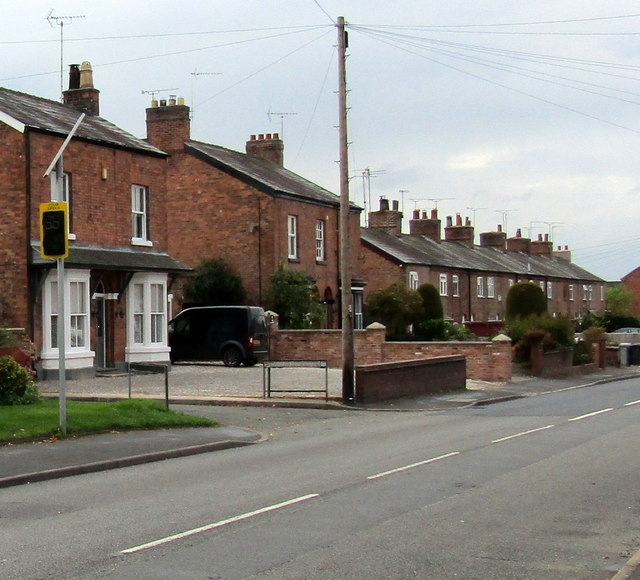Your Speed indicator, London Road, Nantwich