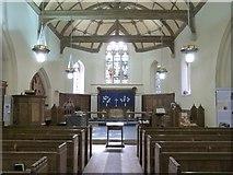 SN7673 : Interior of Hafod Church, Cwmystwyth by Derek Voller