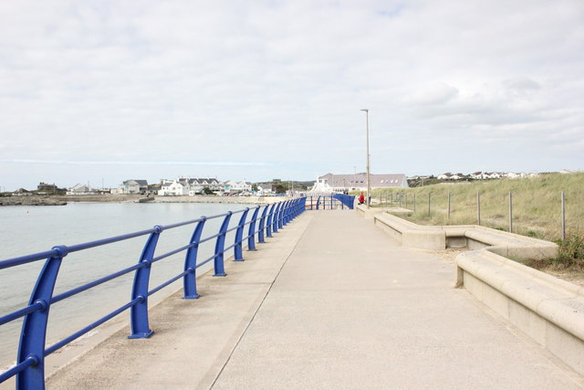 Anglesey Coastal Path approaching Trearddur