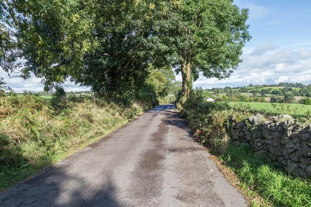 Lane to Kilcolman