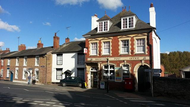 Bromyard Post Office