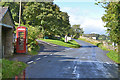 NY5118 : Road junction and telephone box, Bampton by Nigel Brown