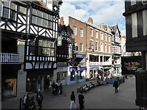 SJ4066 : Chester: Eastgate Street by Jonathan Hutchins