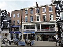 SJ4066 : Chester: 11-23 Eastgate Street by Jonathan Hutchins
