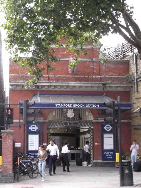 Stamford Brook Underground Station, Goldhawk Road W6