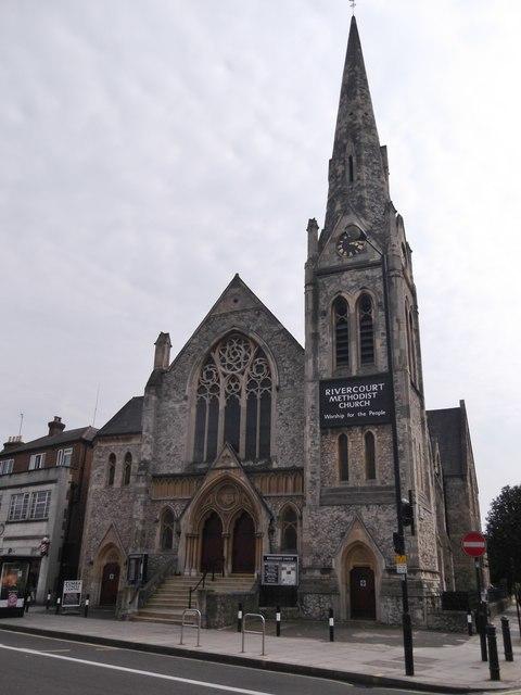 Rivercourt Methodist Church, King Street W6