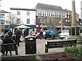 SJ6552 : Classic conveyances 3 - Nantwich, Cheshire by Martin Richard Phelan