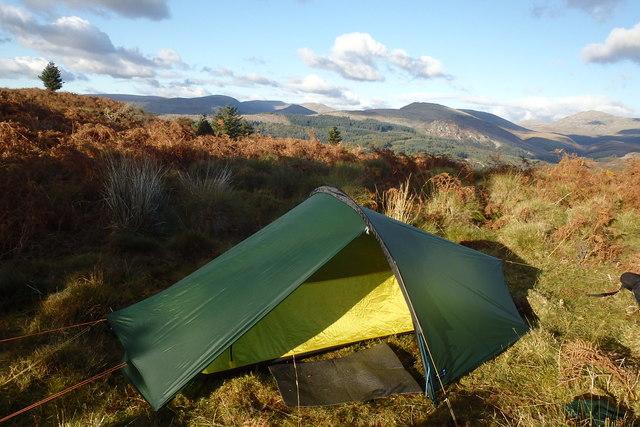 Tent, Muncaster Fell