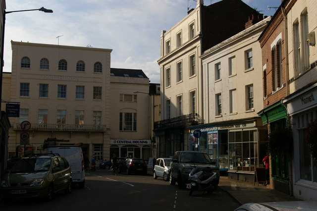 Parthenon building, Bath Street, Leamington Spa