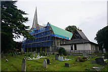 SU4512 : Church of the Holy Saviour, Bitterne by Bill Boaden
