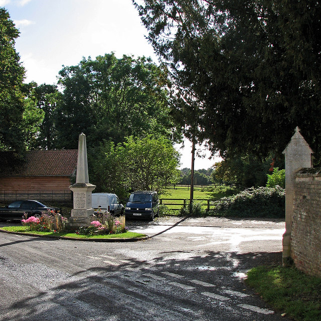 Fen Ditton War Memorial