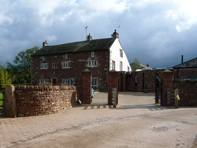 Nether Hoff Farm, from the north-west