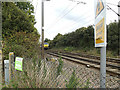 TM1587 : Train approaching Hales Street Level Crossing by Adrian Cable
