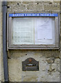 ST7758 : Village notice board and letterbox by Neil Owen