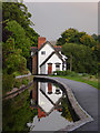 SJ2142 : Canal reflections in Llangollen, Denbighshire by Roger  Kidd