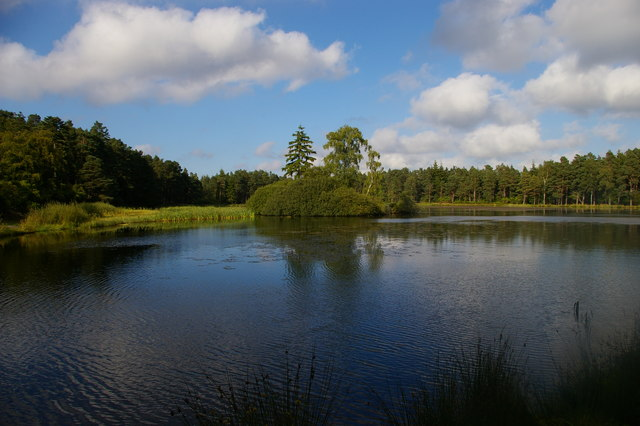 Nelly's Moss Lakes (upper), Cragside estate