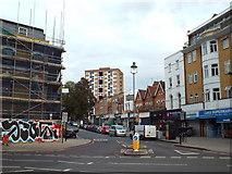 TQ3386 : Cazenove Road, Stoke Newington by Malc McDonald