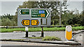 J1661 : Direction signs, Moira roundabout (October 2016) by Albert Bridge