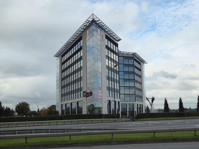 Venus: office building opposite Trafford Centre