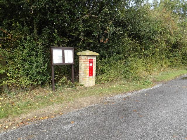 Star Inn Victorian Postbox