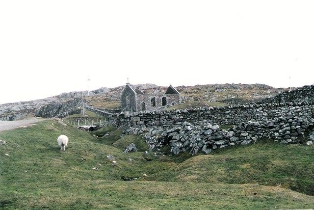 Ruined kirk at Stoer