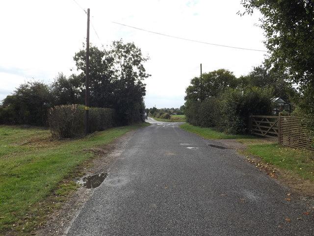 Lodge Road, Tivetshall St.Margaret