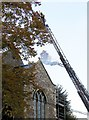 ST5873 : Firefighters, St Michael on the Mount church, Bristol by Derek Harper
