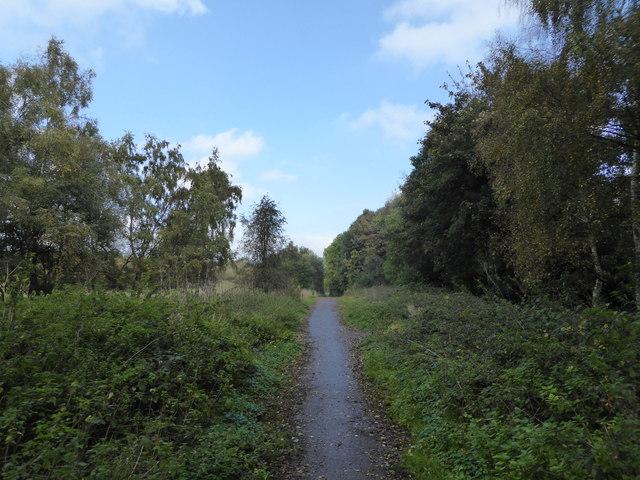 Leycett: bridleway to Bateswood