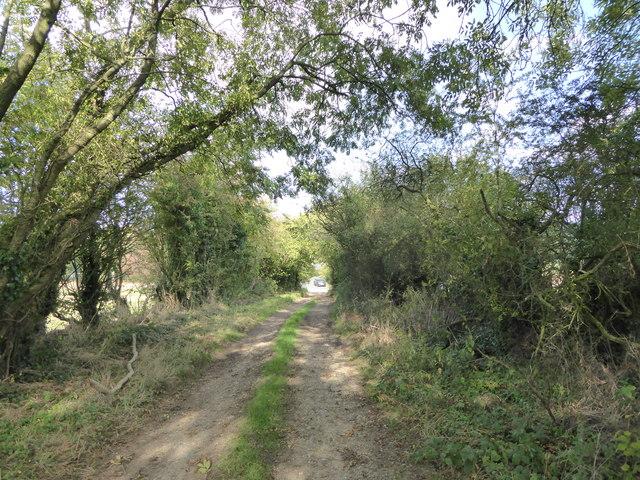 Leycett: byway to Finney Green