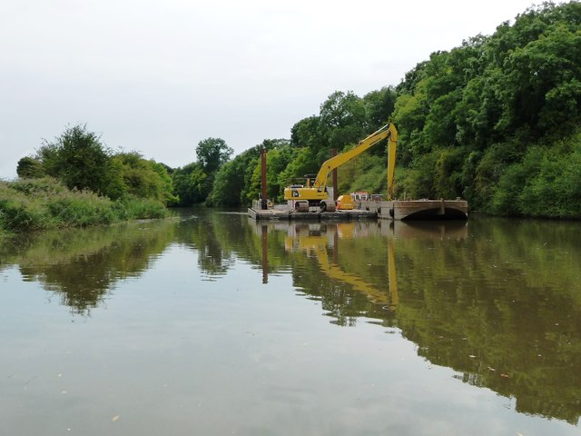 Dredging the Weston Canal