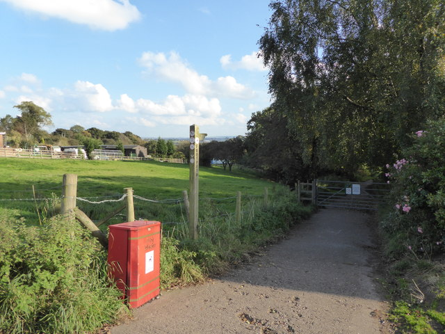 Wood Lane: footpath off Apedale Road