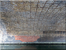 TQ3283 : Under the Bridge, Regents Canal, City Road Basin, Islington, london by Christine Matthews