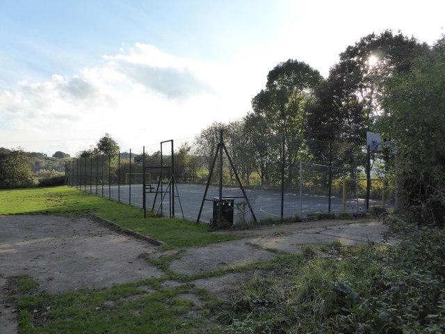 Wood Lane: sports court