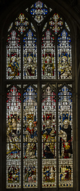 Window S.X, Gloucester Cathedral
