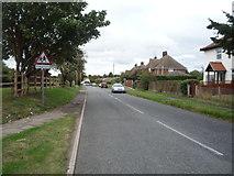 TM4679 : Norfolk Road (B1126), Wangford by JThomas