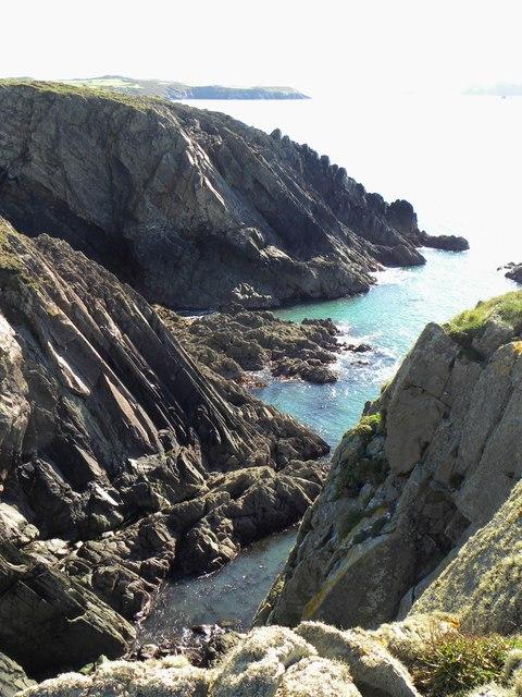 Rocky inlet, Point St John