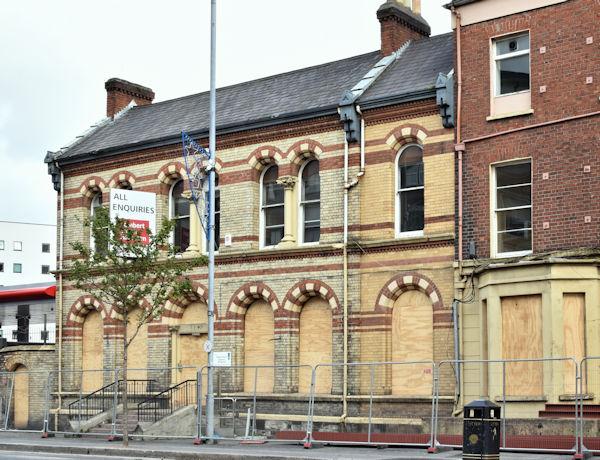 Former Shaftesbury Square Hospital, Belfast (October 2016)