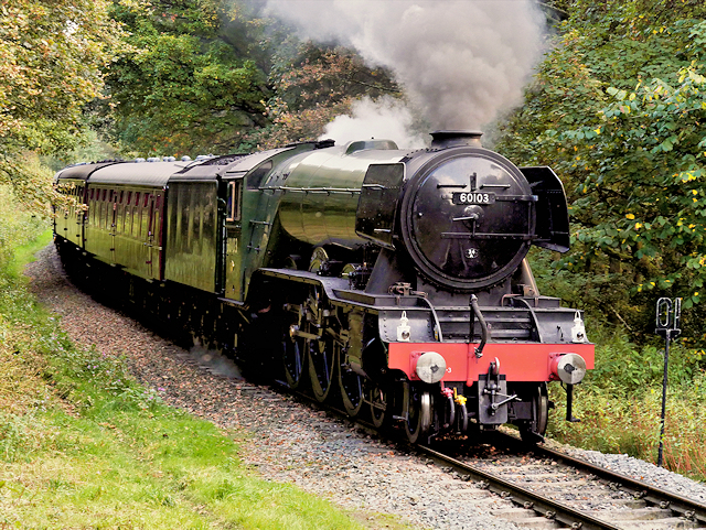 The Flying Scotsman on the East Lancashire Railway
