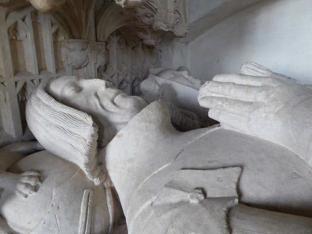 Effigies of Sir Richard and Eleanor Croft