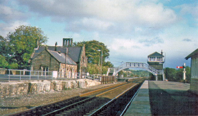 Haltwhistle Station