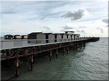 TQ8109 : Hastings Pier by PAUL FARMER