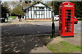 SO9523 : K6 phonebox opposite Central Cross Cafe, Cheltenham by Jaggery