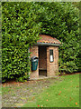 TM1791 : Bus Shelter off Hall Road by Adrian Cable