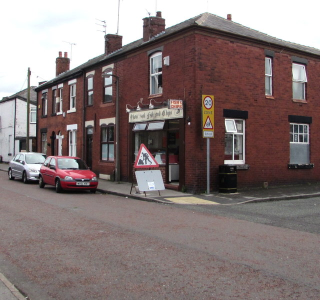 Shaw Road Chippy, Stockport