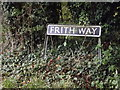 TM1690 : Frith Way sign by Adrian Cable