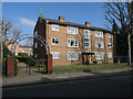 TQ2573 : Morris Gardens, Granville Road by Hugh Venables