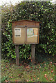 TM1690 : Great Moulton Village Notice Board by Adrian Cable