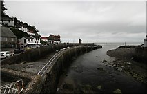 SS7249 : Lynmouth harbour by Ian Andrews