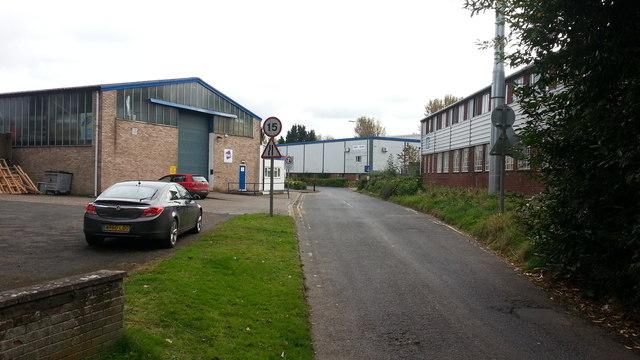 Site of Bromyard railway station